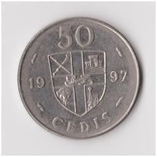 GANA 50 CEDIS 1997 KM # 31a VF