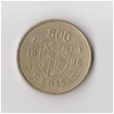 GANA 500 CEDI 1996 KM # 34 VF