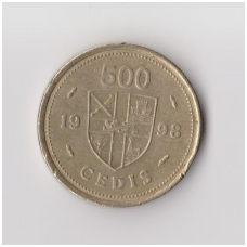 GANA 500 CEDI 1998 KM # 34 VF