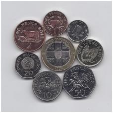 GERNSIS 1992 - 2012 m. 8 monetų rinkinukas