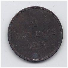 GERNSIS 4 DOUBLES 1871 KM # 5 F