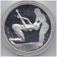 GRAIKIJA 10 EURO 2004 KM # 200 PROOF PLAUKIMAS