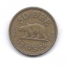 GRENLANDIJA 50 ORE 1926 KM # 7 VF