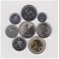 GRUZIJA 8 monetų rinkinukas