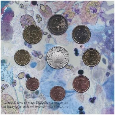 GRAIKIJA 2012 m. OFICIALUS RINKINYS SU PROGINE 10 EURŲ MONETA 3