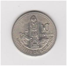 GVATEMALA 10 CENTAVOS 1994 KM # 277.6 XF
