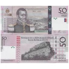 HAITI 50 GOURDES 2004 P # 274a UNC