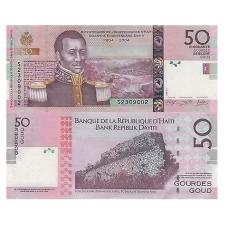HAITIS 50 GOURDES 2014 P # 274 UNC