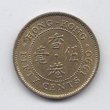 HONKONGAS 50 CENTS 1990 KM # 62 XF