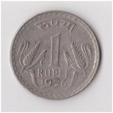 INDIJA 1 RUPEE 1976 KM # 78 VF