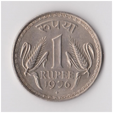 INDIJA 1 RUPEE 1976 KM # 78 XF