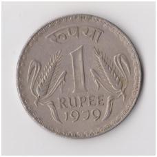 INDIJA 1 RUPEE 1979 KM # 78 VF