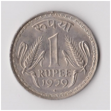 INDIJA 1 RUPEE 1979 KM # 78 XF