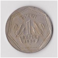 INDIJA 1 RUPEE 1983 KM # 79 VF