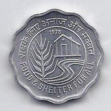 INDIJA 10 PAISE 1978 KM # 21 UNC FAO
