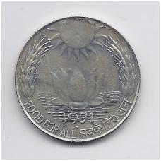 INDIJA 10 RUPEES 1971 KM # 186 UNC FAO