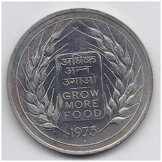INDIJA 10 RUPEES 1973 KM # 188 UNC FAO
