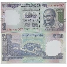 INDIJA 100 RUPEES 2016 P # new UNC
