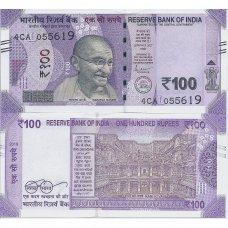 INDIJA 100 RUPEES 2019 P # new UNC