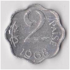 INDIJA 2 PAISE 1968 KM # 13 VF