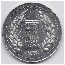 INDIJA 20 RUPEES 1973 KM # 240 UNC FAO