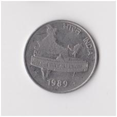 INDIJA 50 PAISE 1989 KM # 69 VF