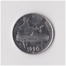 INDIJA 50 PAISE 1990 KM # 69 XF