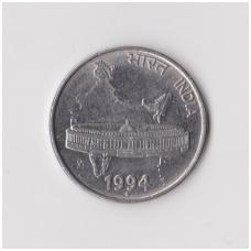 INDIJA 50 PAISE 1994 KM # 69 XF