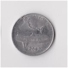 INDIJA 50 PAISE 2002 KM # 69 VF