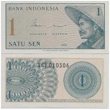 INDONEZIJA 1 SEN 1964 P # 90 UNC