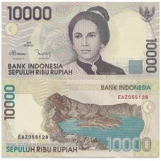 INDONEZIJA 10 000 RUPIAH 1998 P # 137a UNC