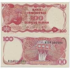 INDONEZIJA 100 RUPIAH 1984 P # 122 UNC
