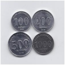 INDONEZIJA 2016 m. 4 monetų rinkinukas