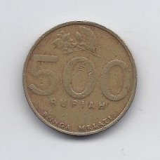INDONEZIJA 500 RUPIAH 2000 KM # 51 VF