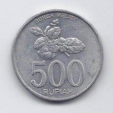 INDONEZIJA 500 RUPIAH 2003 KM # 67 XF