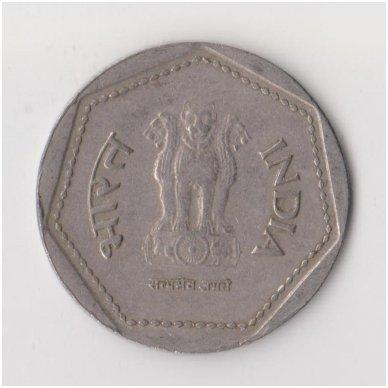INDIJA 1 RUPEE 1985 KM # 79 VF 2