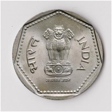 INDIJA 1 RUPEE 1988 KM # 79 XF 2