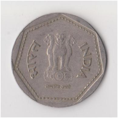 INDIJA 1 RUPEE 1989 KM # 79 VF 2