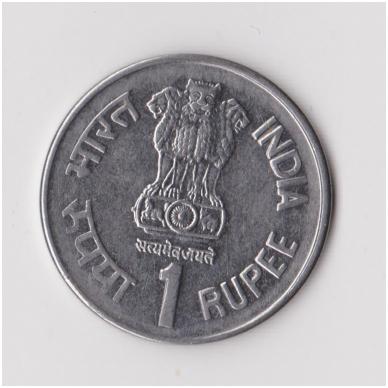 INDIJA 1 RUPEE 1997 KM # 98 XF 2