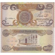 IRAKAS 1000 DINARS 2003 P # 93a UNC