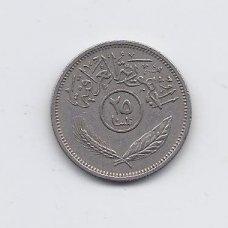IRAKAS 25 FILS 1972 KM # 127 VF