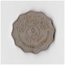 IRAKAS 5 FILS 1959 KM # 120 VF