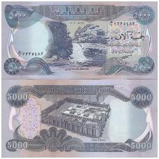 IRAKAS 5000 DINARS 2003 P # 94a UNC