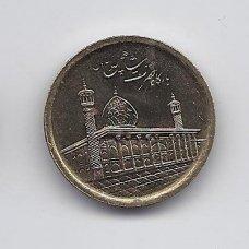 IRANAS 1000 RIALS 2012 KM # 1287 UNC