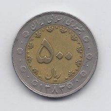 IRANAS 500 RIALS 2004 KM # 1269 VF
