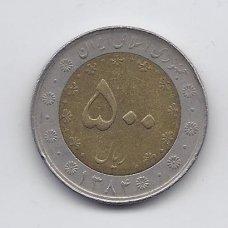 IRANAS 500 RIALS 2005 KM # 1269 VF