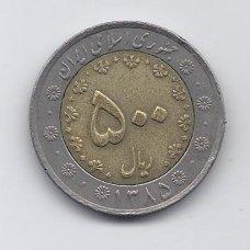 IRANAS 500 RIALS 2006 KM # 1269 VF