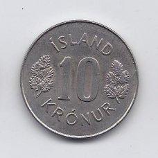 ISLANDIJA 10 KRONUR 1980 KM # 15 XF