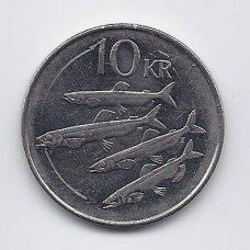 ISLANDIJA 10 KRONUR 1996 KM # 29.1a XF