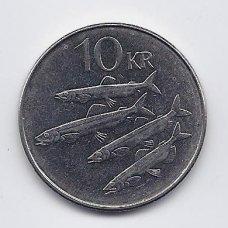 ISLANDIJA 10 KRONUR 2006 KM # 29.1a XF
